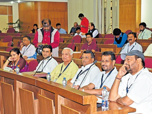 Don't lose temper in House, Siddu advises new MLCs