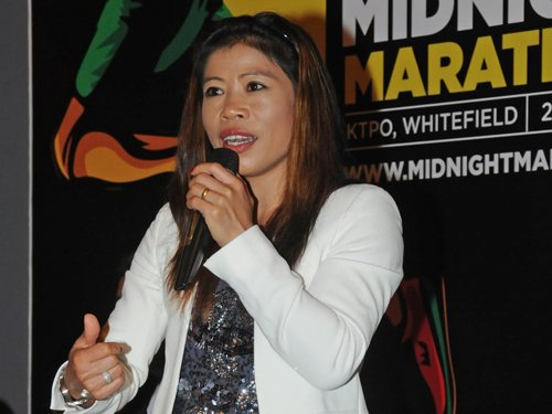 MC Mary Kom to be part of Vijender's title fight