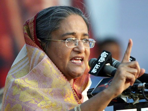 Hasina vows to do everything to 'uproot militants' from B'desh