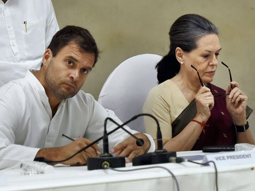Our own men helped BJP win MLC polls: Cong leaders tell Sonia