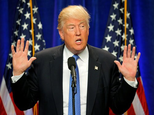 Trump draws ire for anti-Clinton tweet with Star of David shape