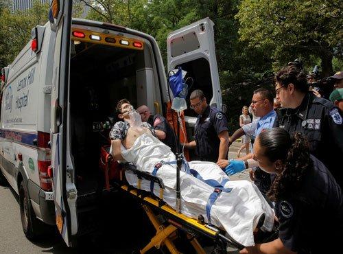 Man severely injured in blast in New York Central Park: Report
