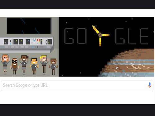 Juno enters Jupiter's orbit and Google puts it on homepage