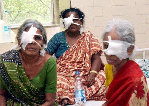 Eye surgery botch-up: Case registered against doctors