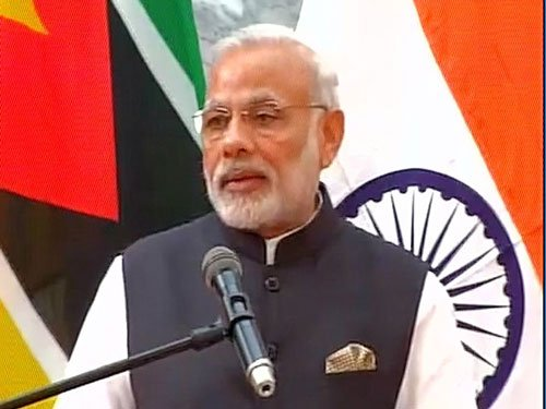 Terror is gravest threat to world, says PM Modi