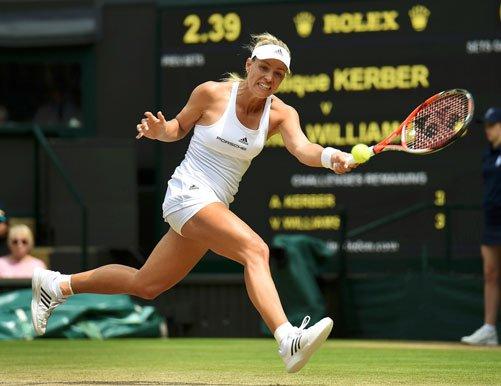 Kerber downs Venus, faces Serena in Wimbledon final