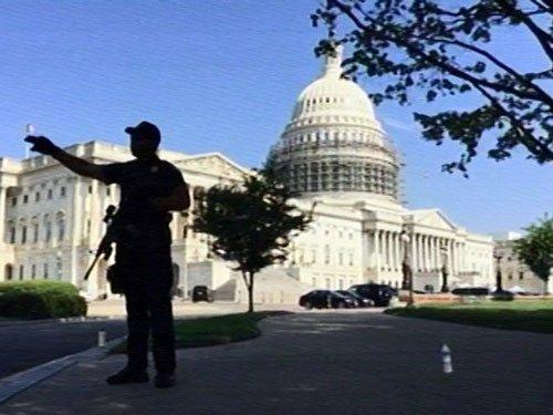 US Capitol building put on brief lockdown