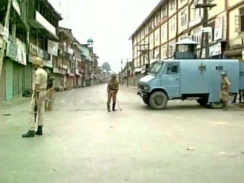 Restrictions, strike disrupt normal life in Kashmir