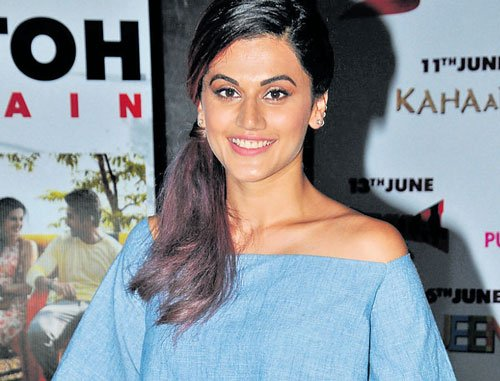 Long struggle before I play typical Bollywood heroine: Taapsee