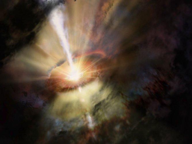 Earth-sized telescope spots star being swallowed by black hole