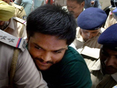 Hardik Patel set to be released after nine months in jail