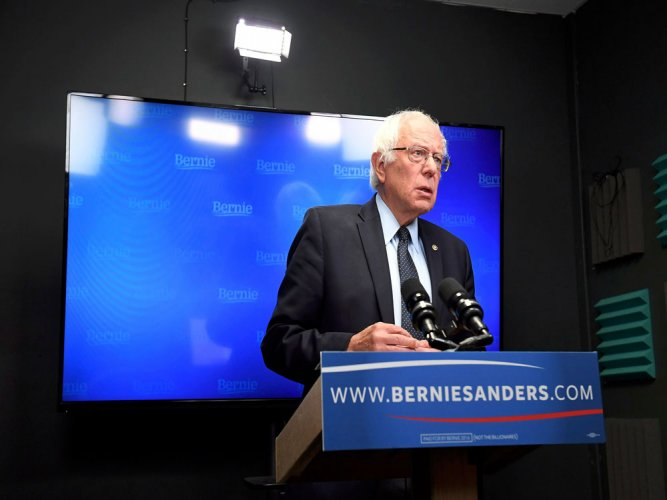 Sanders to join Clinton at poll rally