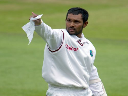 Veteran Ramdin dropped as rookie Chase picked for India Tests