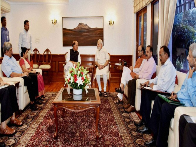 PM chairs meet to review situation