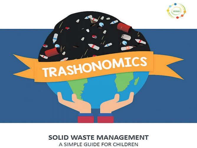 A book that teaches kids the art of waste management