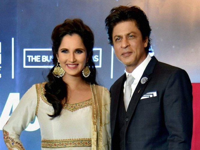 Sania Mirza is 'rani of racket', says SRK | Deccan Herald