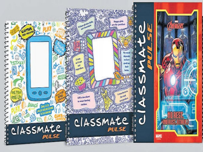 Hi-tech notebook covers for youth