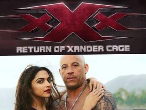 Deepika Padukone unveils 'xXx: The Return of Xander Cage' logo