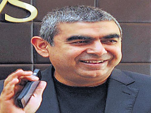 Infosys performs below expectation, bottomline up 4.5%