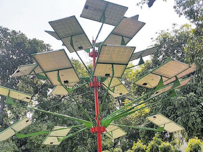 Solar trees to light up Delhi's streets from today