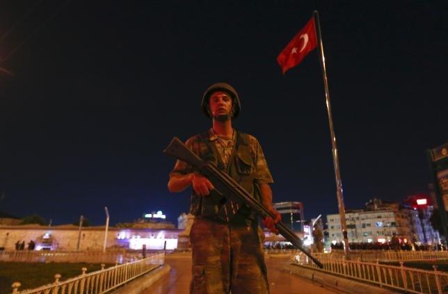 Turkey in turmoil as Army seeks to seize power