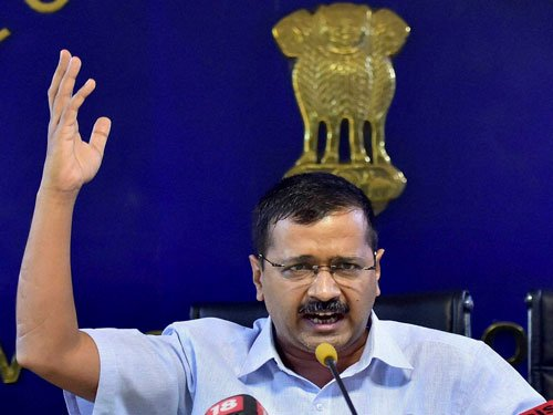 Modi govt has turned ties with centre into 'India-Pak' situation: Kejriwal