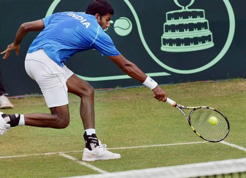 Bopanna wins singles, Lim prevents clean sweep by India