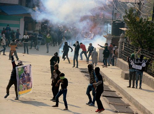 Curfew remains in force in Kashmir Valley, ruling MLA injured