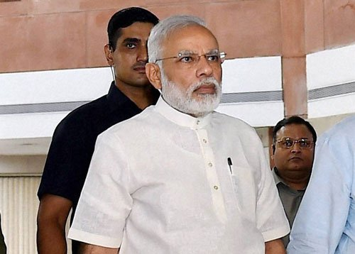 Govt has nothing to hide on J&K: Modi