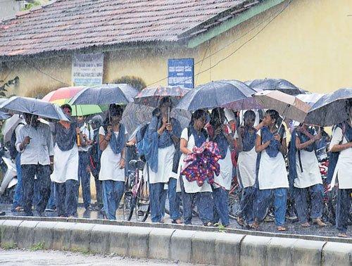 Rains pick up pace in U-K district