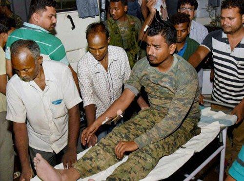 Nitish condoles CRPF jawans' death, announces compensation