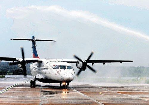 AI's 'connect India' flight makes maiden landing in Hubballi