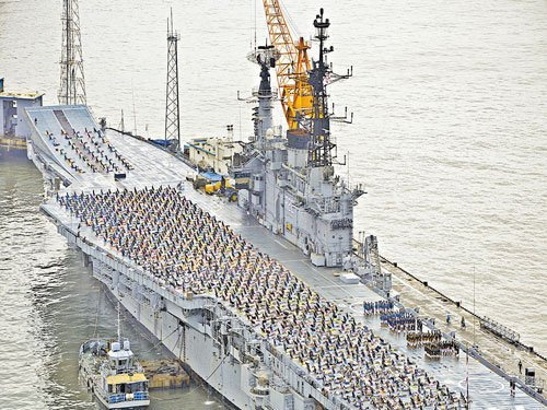 INS Viraat to set sail for the last time this week