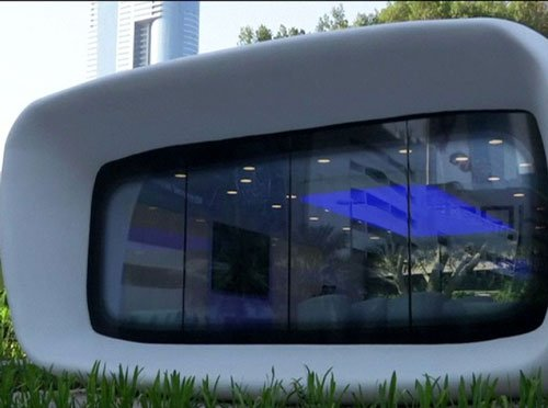 3D-printed office building