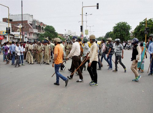 Day after bandh, protests rage in Una