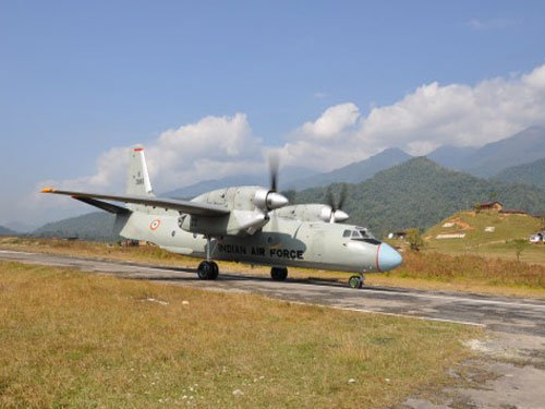 IAF plane goes missing with 29 on board