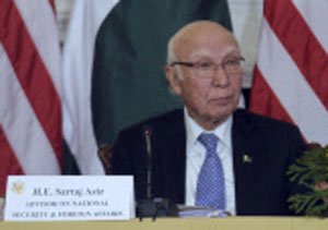 Verdict on future of Kashmir only by Kashmiri people: Aziz