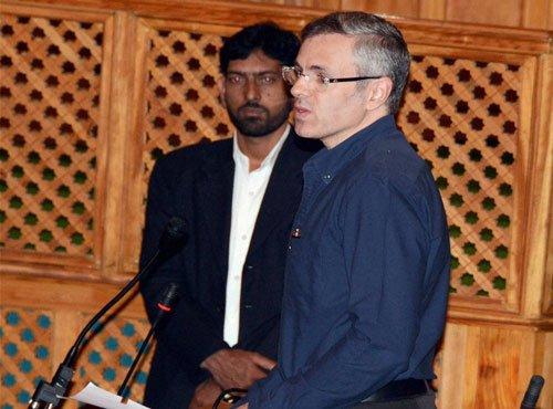 Kashmir a political problem, Omar tells Rajnath