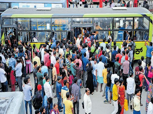 BMTC services hit as staff strike work from Sunday afternoon