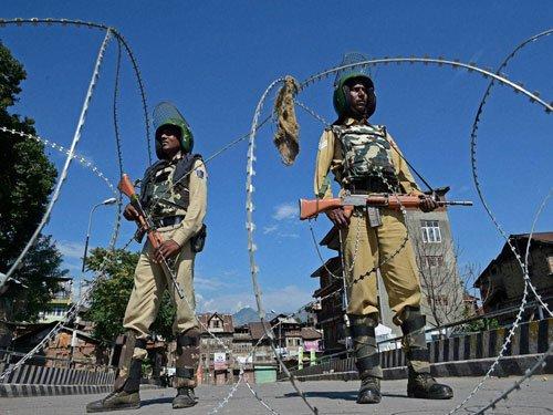 CRPF expresses regret over pellet injuries in Kashmir