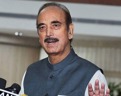 Use of pellet guns will further alienate people in J&K: Azad
