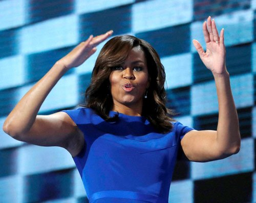 Michelle brings Democrats to tears in moving convention speech
