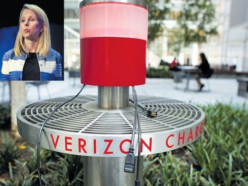 Verizon, a challenger to Google, Facebook