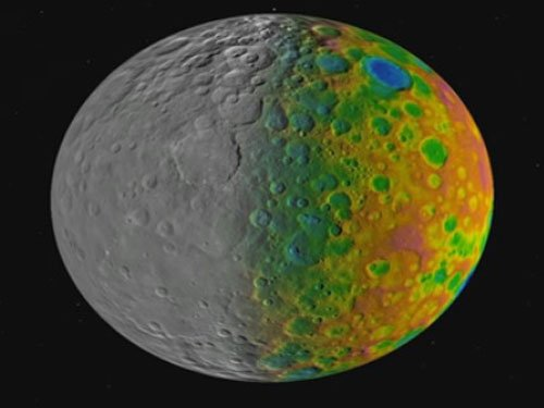 NASA's Dawn probe shows large craters missing from Ceres