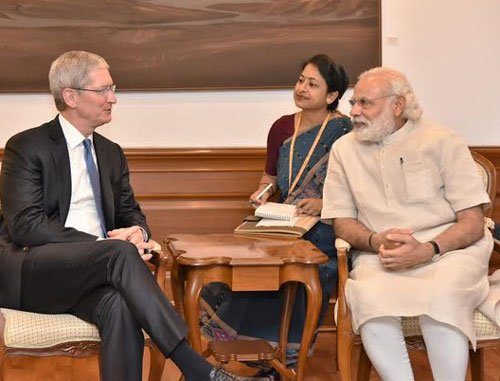 Keen on retail stores in India: Apple CEO