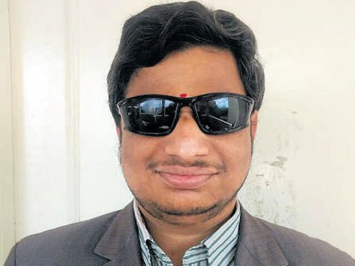 Visually impaired and abandoned at 5, this Maths genius has an IAS dream