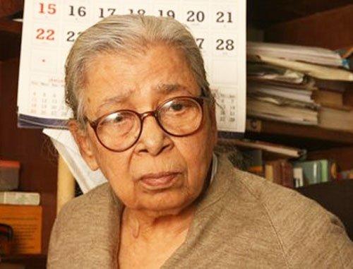 Eminent writer Mahasweta Devi passes away