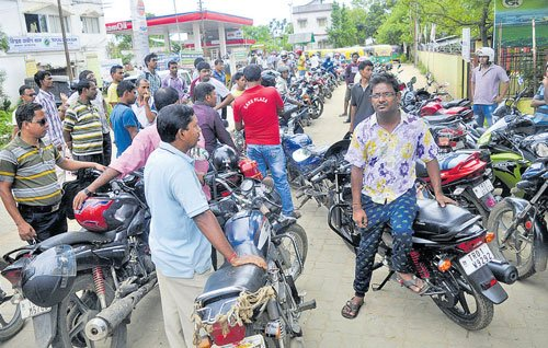 Odd-even formula to solve Tripura's fuel crisis