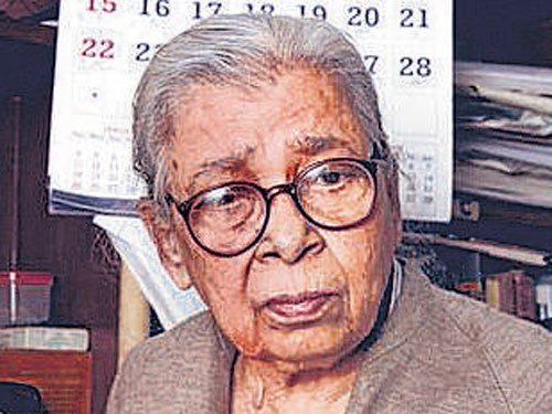 Mahasweta Devi, activist-author, passes away