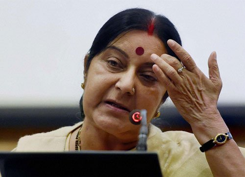 Indian national not executed in Indonesia: Swaraj